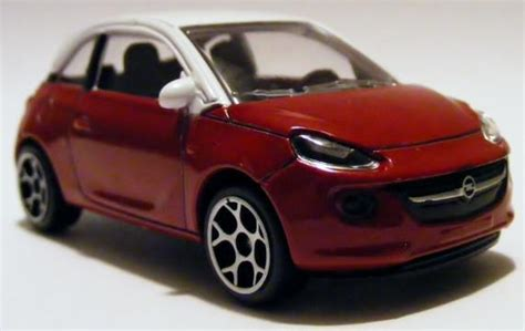 Diecast Majorette Cars Opel Adam small scale diecast miniature car of the year 2014
