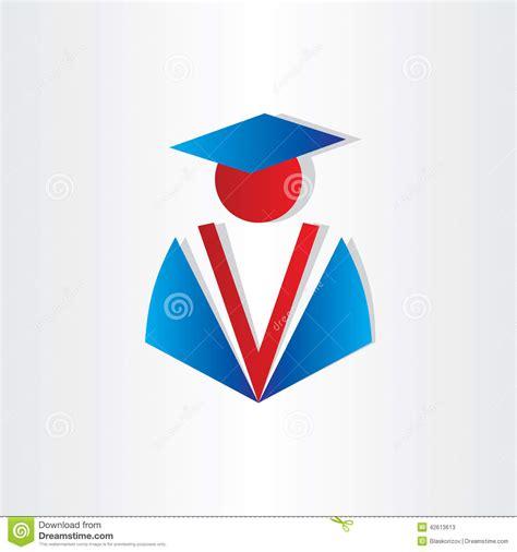 design elements edu student graduate university symbol stock vector image