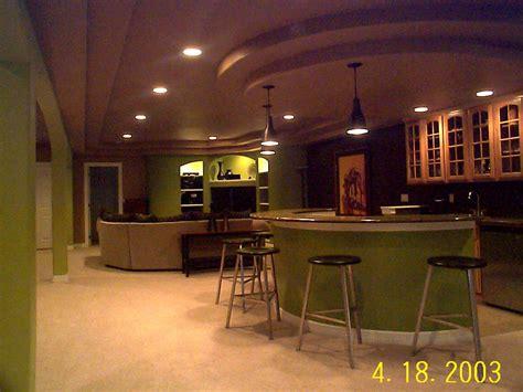 Finished Basement Design Ideas Basement Remodeling Ideas Basement Kitchen