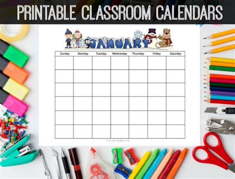 printable calendar classroom printable homework calendars preschool kindergarten