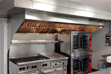 Commercial Kitchen Exhaust Hood Design by Restaurant Ventilation Exhaust Ventilation Custom Hoods