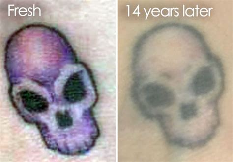 how tattoos age pictures that reveal how tattoos age time 28 pics