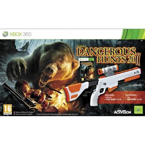cabelas na cabela s dangerous hunts 2011 top elite xbox 360