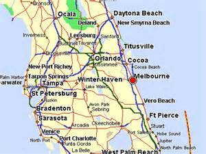 melbourne map florida deboomfotografie