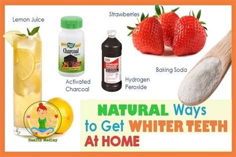6 ways to whiten your teeth at home teeth