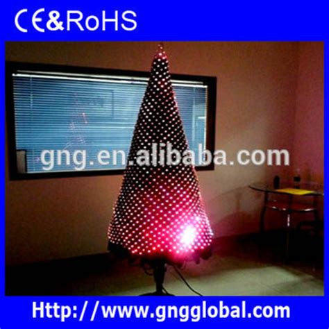 programmable color changing led christmas tree light led