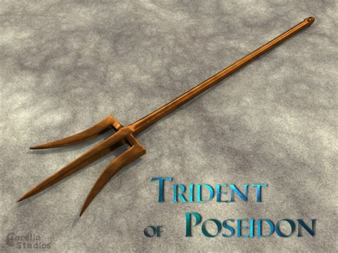 how to make a trident out of wood trident of posiedon by corellastudios on deviantart