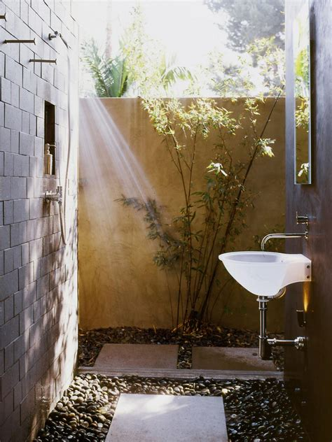 outdoor cing shower ideas spice up the outdoors with these showers hgtv