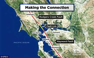 san francisco fault map alarming research reveals that two of the country s most