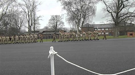prince william of gloucester barracks final pass passing out parade grantham youtube