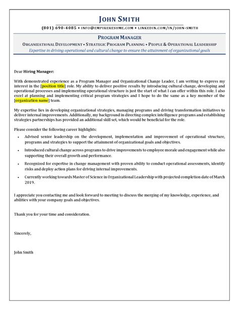cover letter writing services empire resume