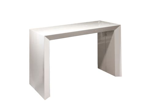 White Gloss Console Table Bellini White Gloss Console Table