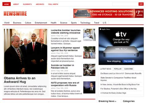 newspaper theme customization 10 cool newspaper themes for wordpress wp solver
