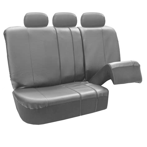 split bench seat premium leatherette split bench seat covers ebay