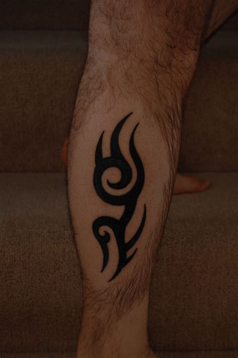 tribal thigh tattoo 26 fascinating tribal leg tattoos only tribal