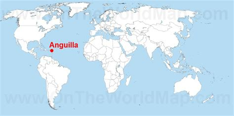 anguilla world map anguilla on the world map anguilla on the caribbean map