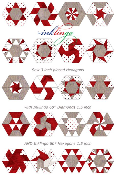 pattern and shape blog add hexagons to the new inklingo diamonds all about