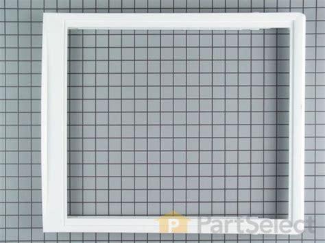 frigidaire upper crisper drawer cover frigidaire 240350702 upper crisper drawer cover glass