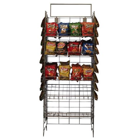 Chip Rack Display by Wire Snack Rack Chip Rack Wire Shelf Snack Display