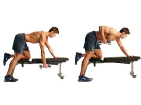 dumbbell rows without bench home back workout ideas