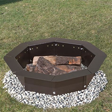 Heavy Duty Bolt Together Cfire Ring Or Fire Pit Insert Pit Grill Insert