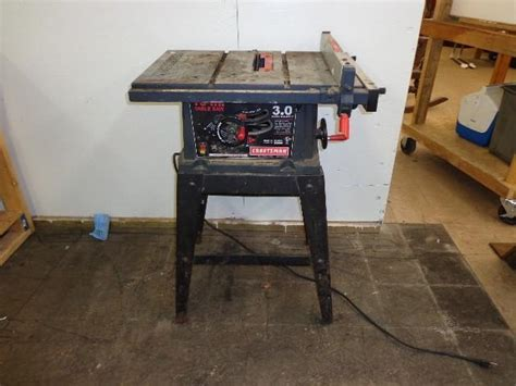 craftsman 137 table saw 10 quot craftsman table saw model may consignment