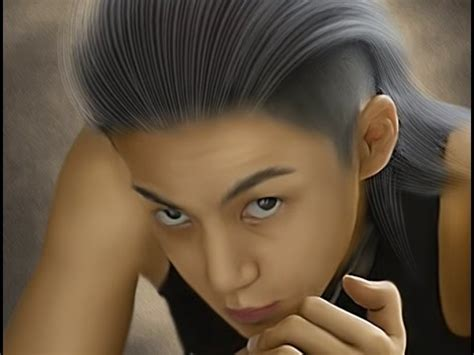 tutorial smudge painting photoshop cs6 smudge painting simple hair tutorial tips burn dodge