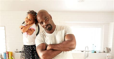 mike colter and family mike colter my daughter is a little honest for her age