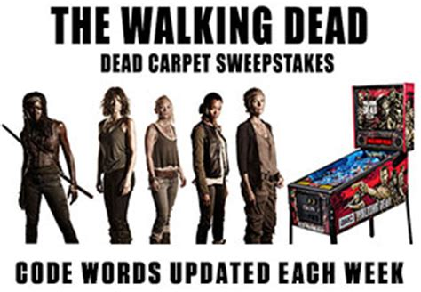 Code Word For Walking Dead Sweepstakes - two and half men and one wonder woman l7 world