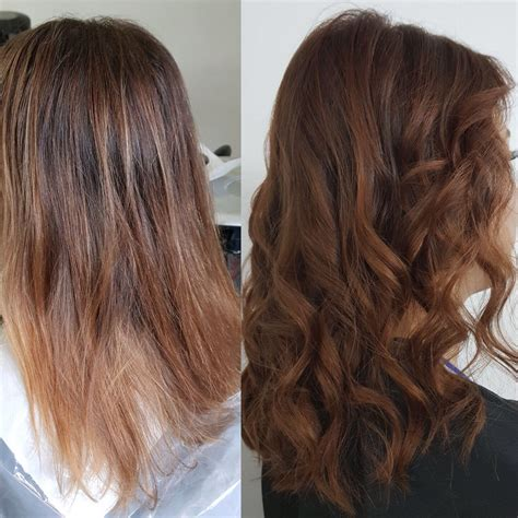 merlot hair color merlot hair color fresh before and after colorhairstyle