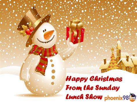 happy christmas   sunday lunch show phoenix fm