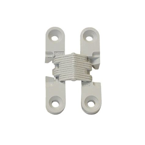 Soss 101 Invisible Hinge White 101cwh Cabinetparts Com Soss Hinge Installation Template