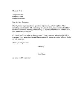 Immediate Irrevocable Resignation Letter Sle Format Of Irrevocable Resignation Letter 7