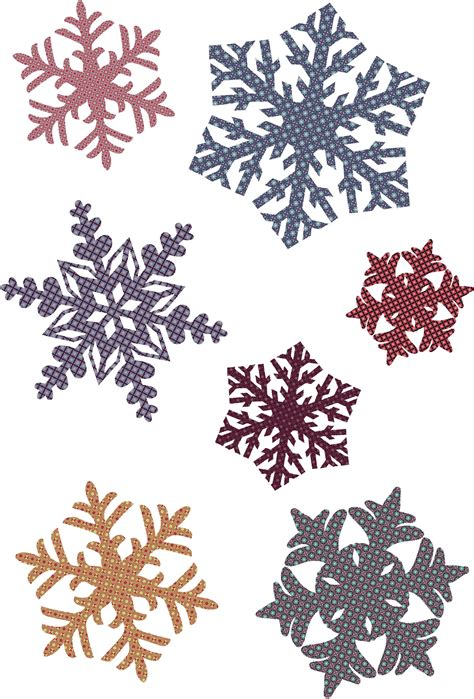 snowflake pattern images snowflake patterns vector free vector 4vector