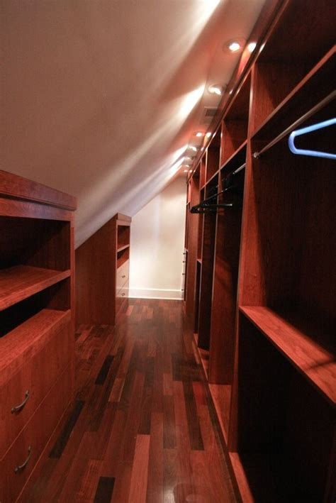 Sloped Ceiling Closets Queen Bee Of Honey Dos Sloped Ceiling Closet