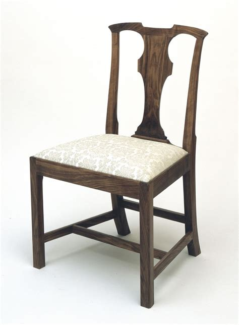 Chippendale Side Chair by Custom Chippendale Side Chair By Kauffman Furniture