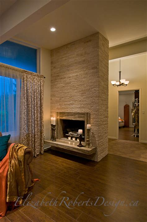 updating your fireplace lighting window treatment