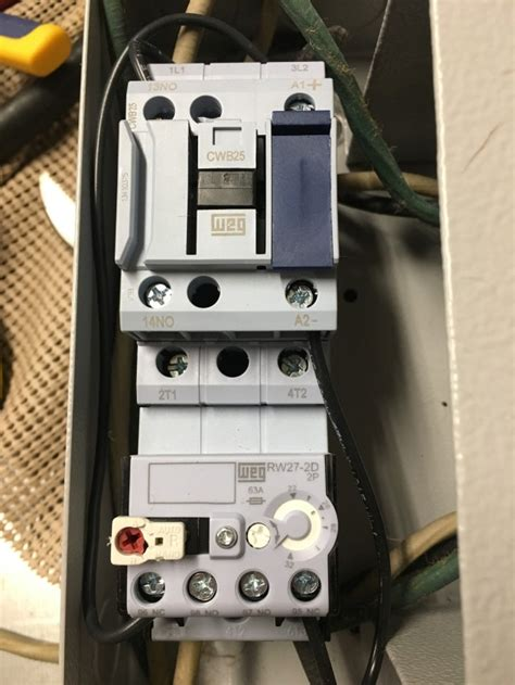 magnetic starter onoff switch  wiring doityourself