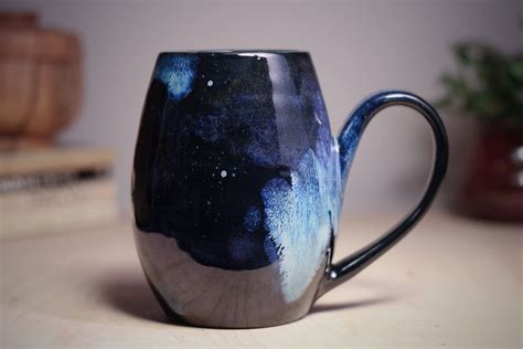 galaxy pottery galaxy ceramics are a stellar way to drink from the stars