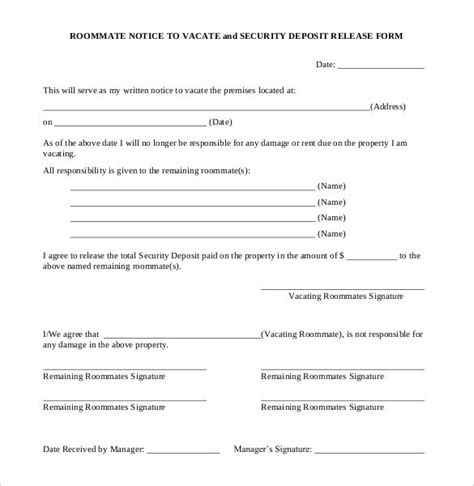 37 Eviction Notice Templates Doc Pdf Free Premium Templates 30 Day Notice To Roommate Template