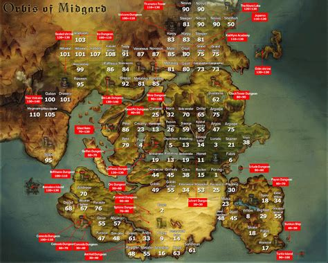world map in ragnarok images word map images and