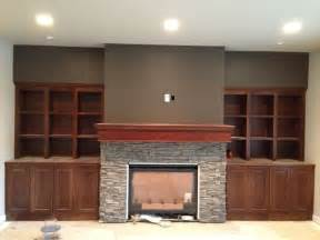 fireplace with built in cabinets fireplace built in cabinets home