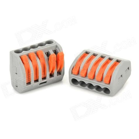 wire joint connector 5 wire cable joint connector 2 pcs free