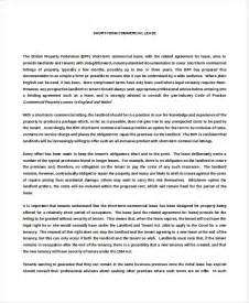Agreement Letter Draft Free Printable Commercial Rental Agreement Template Sles Vlcpeque