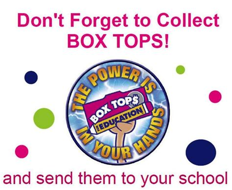 box tops clip box tops for education clip box top
