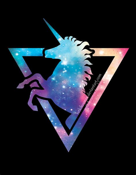 imagenes de unicornios hipster galaxy unicorn on behance