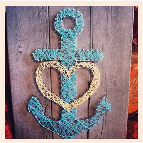 String Anchor - anchor string craftiness walls