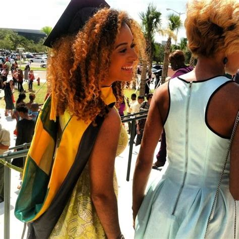 graduation hairstyles for naturally curly hair habeshasbeauty crazyclarine elaine got her masters