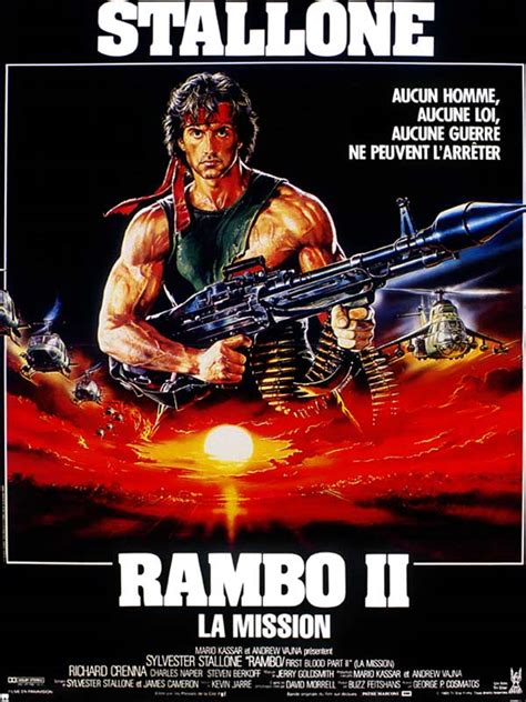 film rambo ii rambo ii la mission photos et affiches allocin 233
