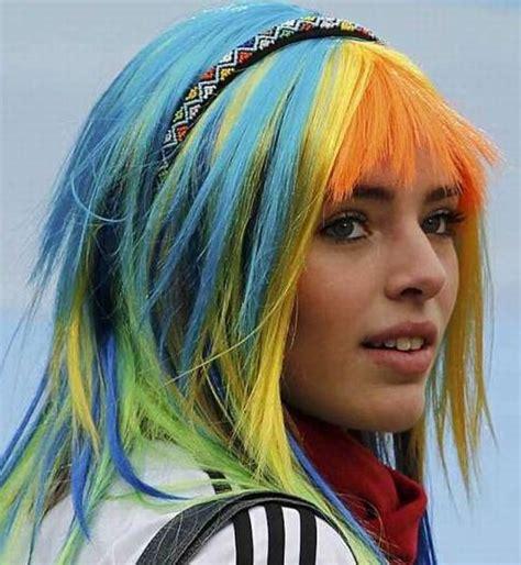modelos de colores para cabello chicas con el pelo te 241 ido de colores marcianos